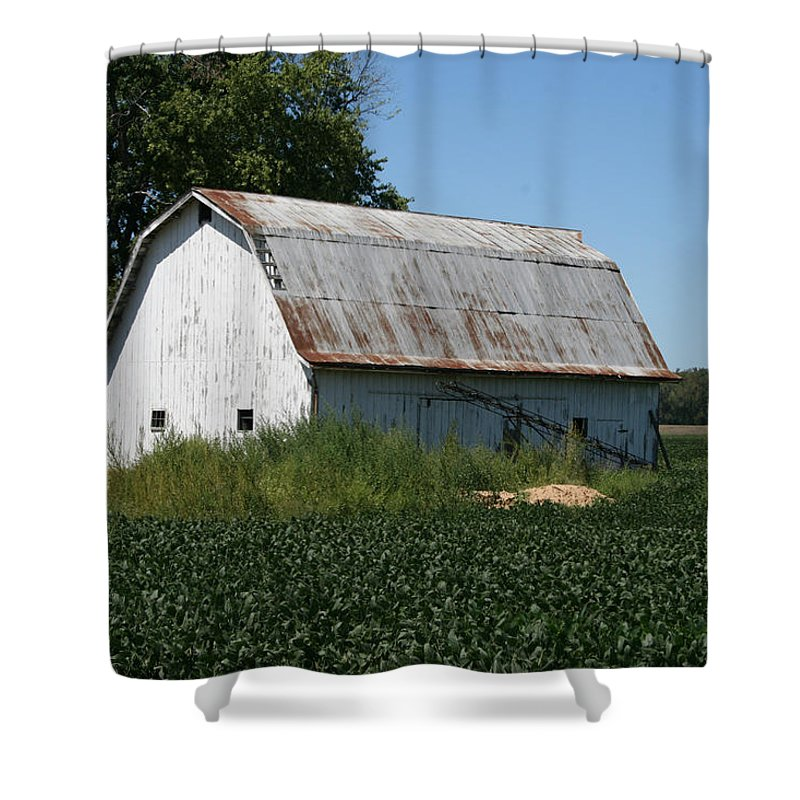 Barn Shower Curtain featuring the photograph Rural Barn by IMH Photog