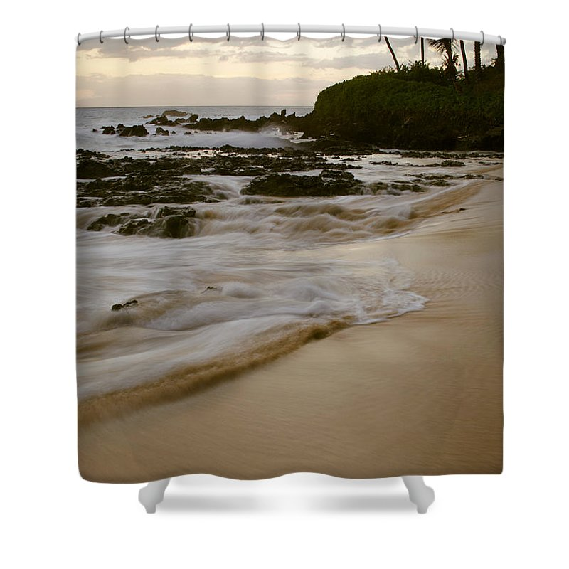 Aloha Shower Curtain featuring the photograph Sanctuary by Sharon Mau