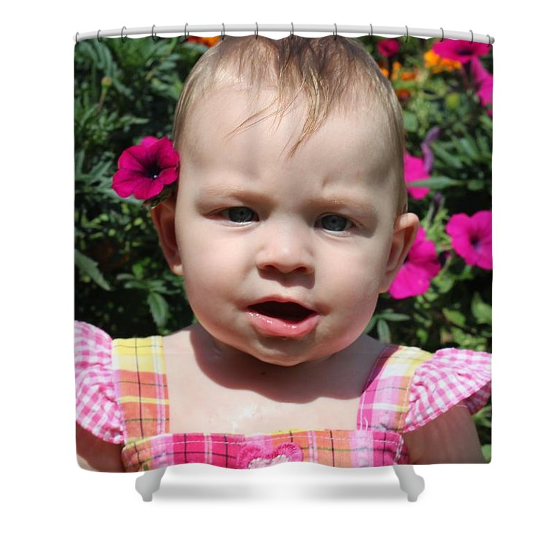 Sarah Shower Curtain featuring the photograph Sarah_3927 by Joseph Marquis