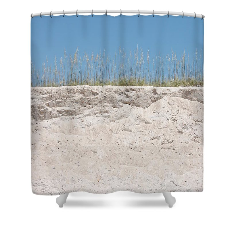 Dunes Shower Curtain featuring the photograph Sea Oat Love by May Photography