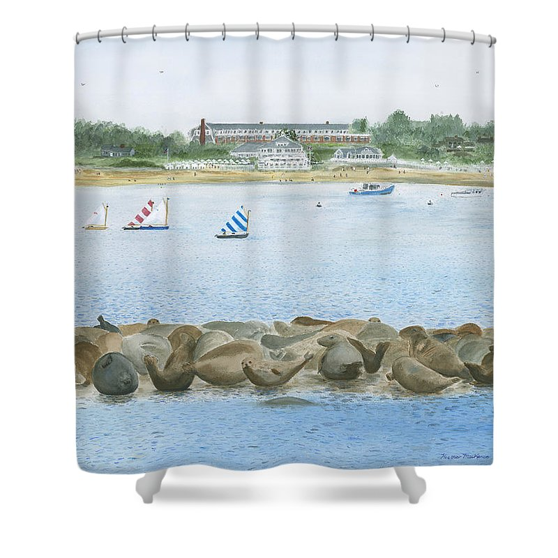 Chatham Bars Inn Shower Curtains | Fine Art America