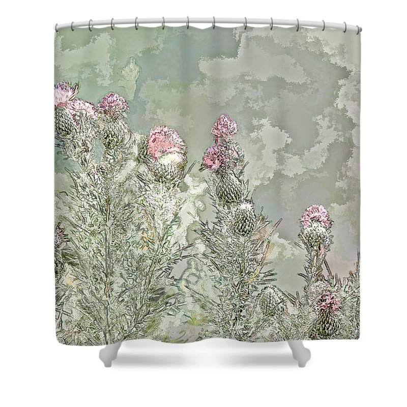 Butter Fly Shower Curtain featuring the photograph Secret Garden by Bonnie Willis