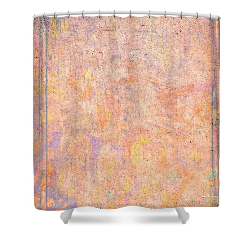 Secret Shower Curtain featuring the painting Secrets - Behind Closed Doors by Angela Stanton