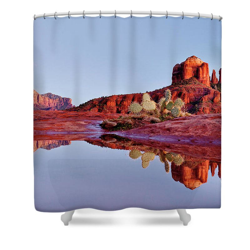 Scenics Shower Curtain featuring the photograph Sedona Arizona by Dougberry