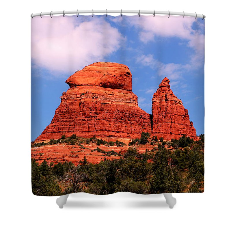 Arizona Shower Curtain featuring the photograph Sedona by Tom Prendergast