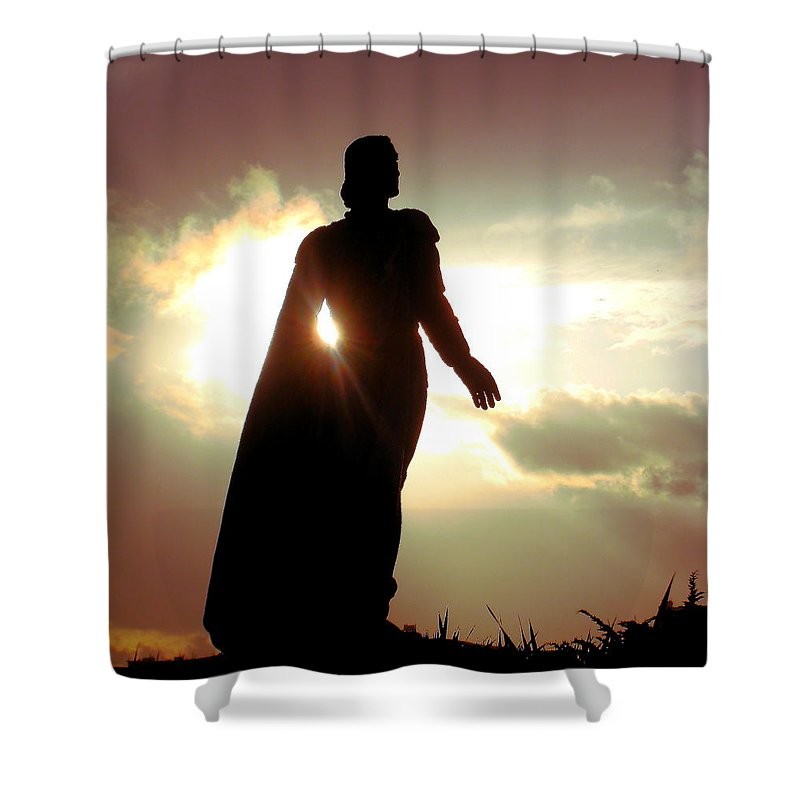 Coit Tower Shower Curtain featuring the photograph New Lands by John King