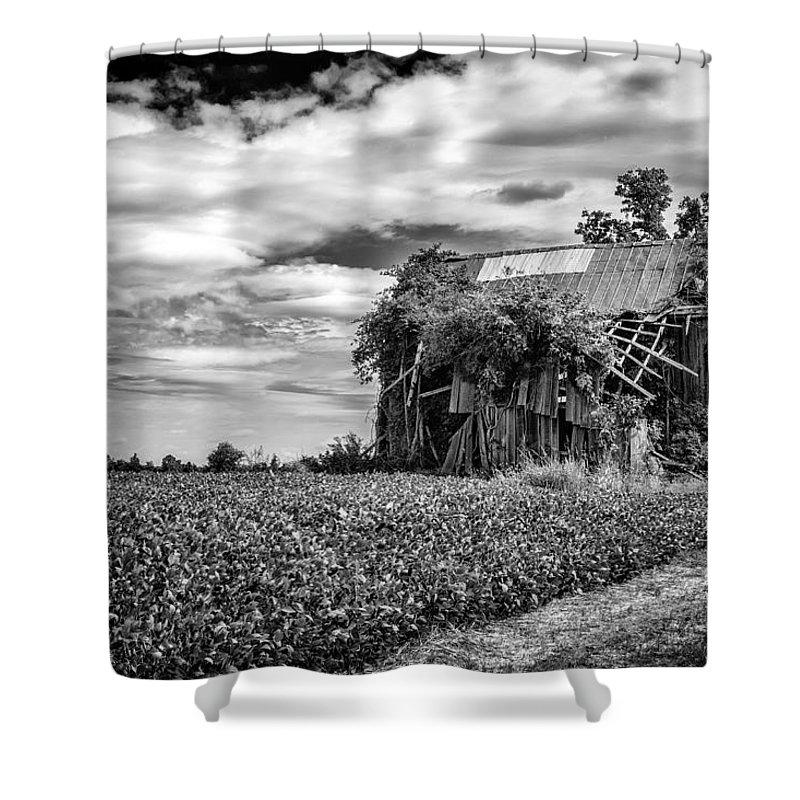 Fineart Shower Curtain featuring the photograph Seen Better Days by Jeff Burton