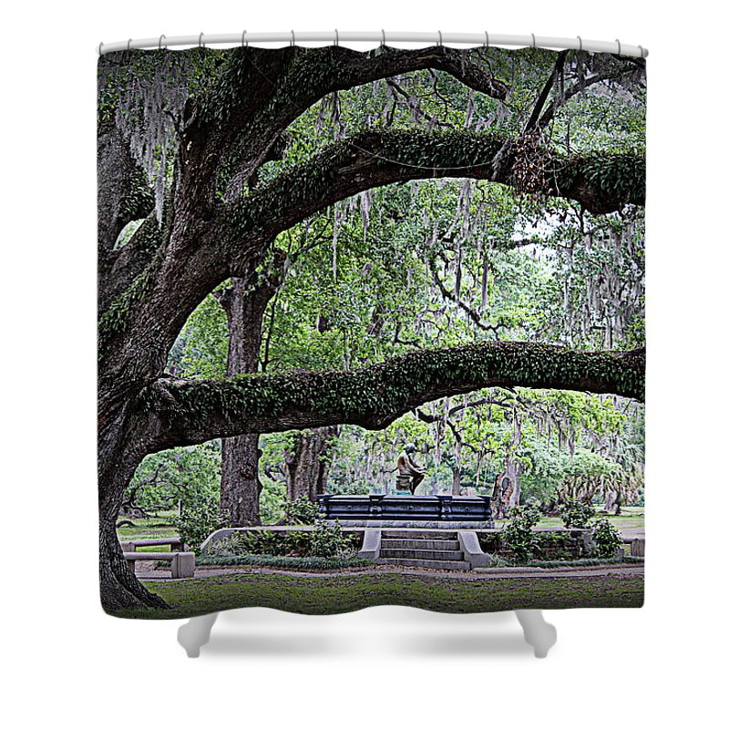Serenity Shower Curtain featuring the photograph Serenity by Beth Vincent