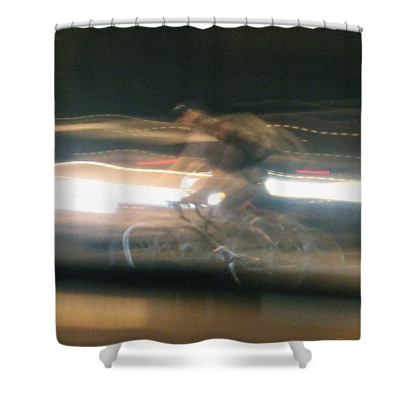 Shape Shifter Shower Curtain featuring the photograph Shape Shifter by Kume Bryant