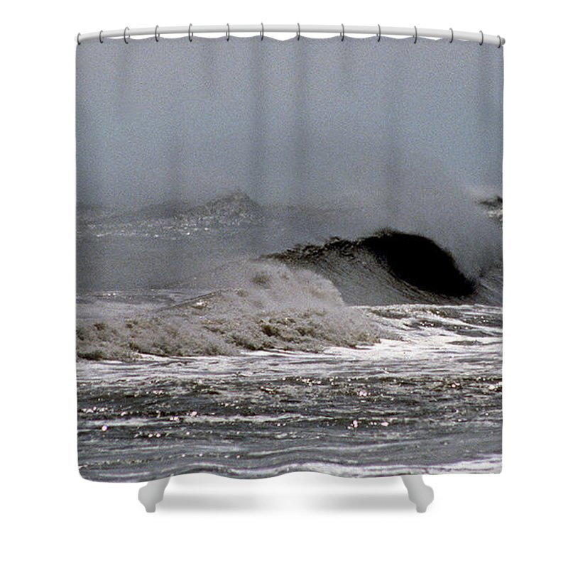 Nature Shower Curtain featuring the photograph Shore Breeze by Skip Willits