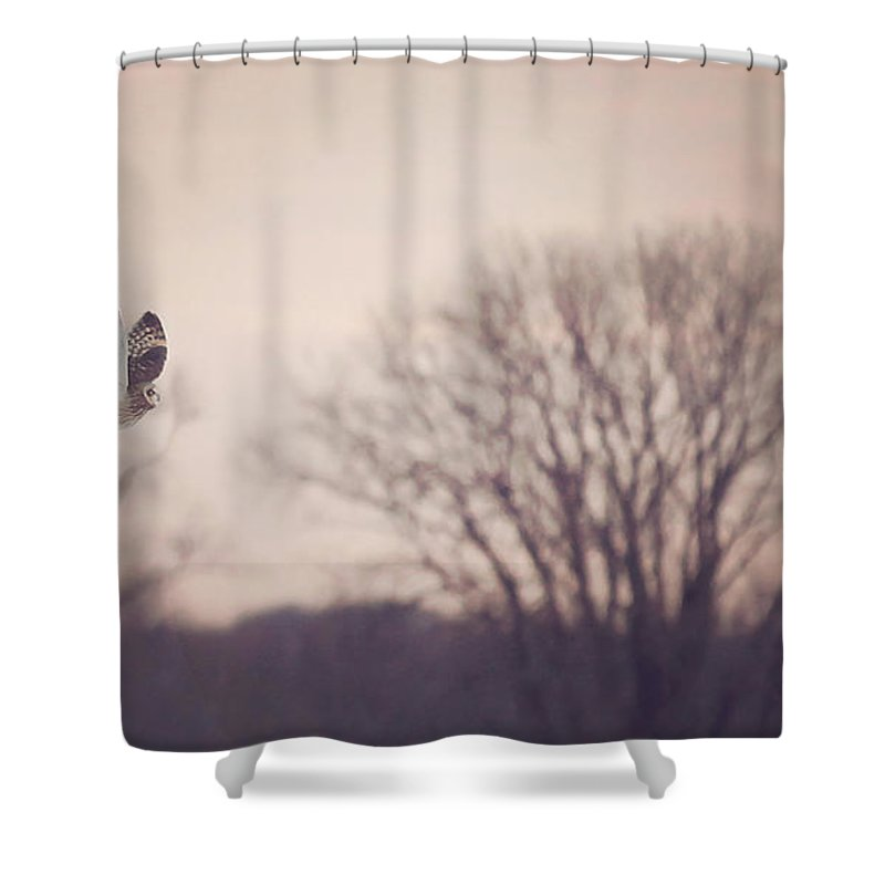 Fence Post Shower Curtains
