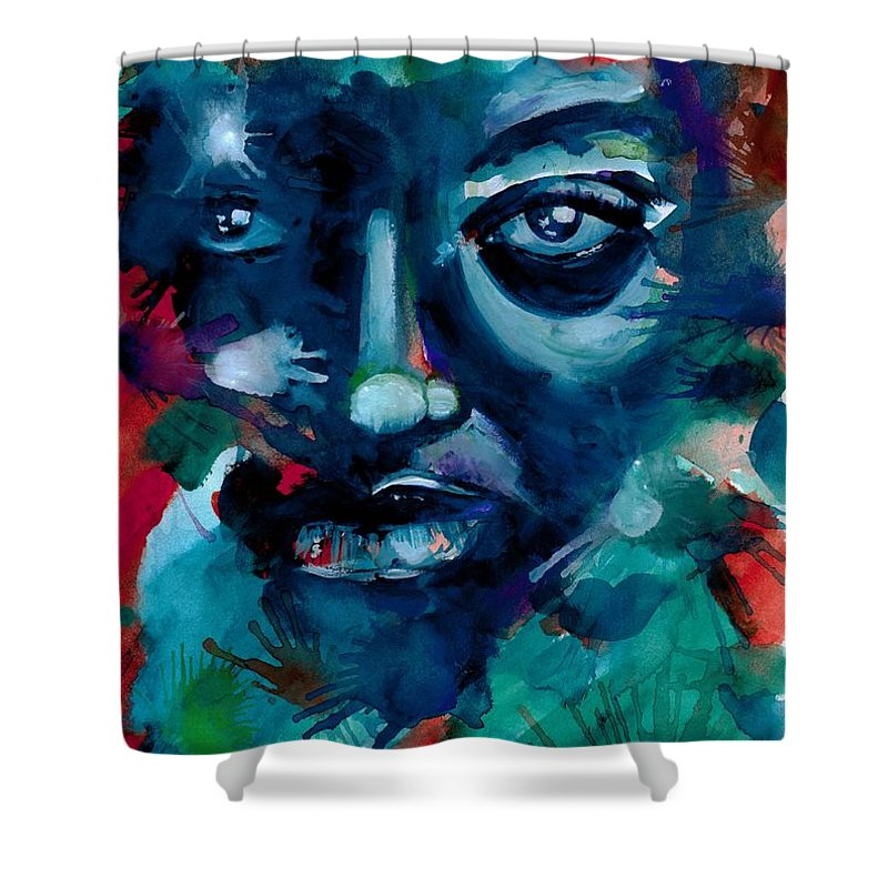 Painting Shower Curtain featuring the photograph Show me your true colors by Artist RiA