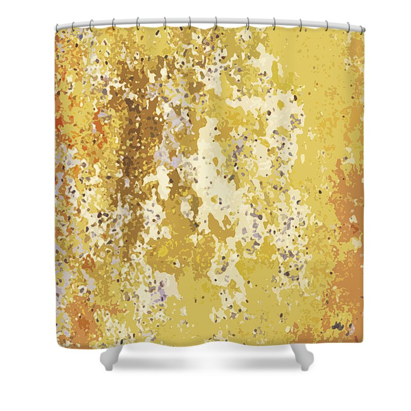 Sidewalk Shower Curtain featuring the photograph Sidewalk Abstract-21 by Art Block Collections