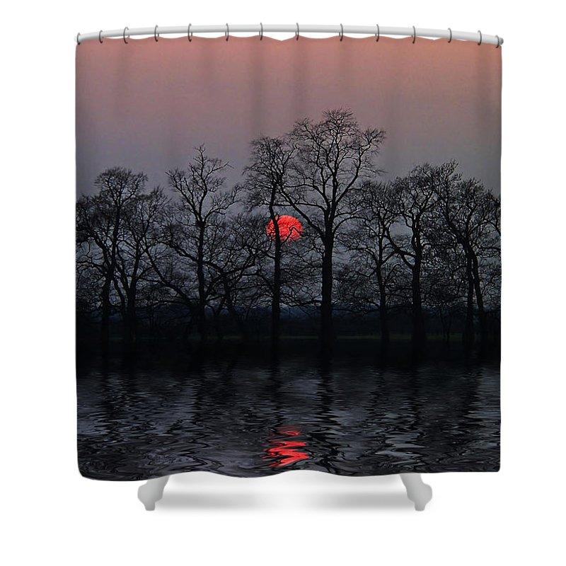 Sun Shower Curtain featuring the photograph Silent Sun by Joachim G Pinkawa