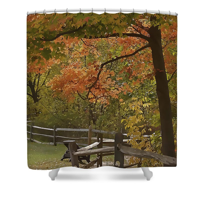 Cvnp Shower Curtain featuring the photograph Sitting Pretty by Jack R Perry