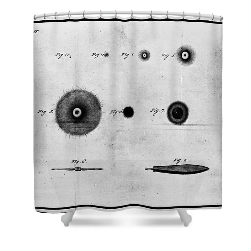 1801 Shower Curtain featuring the photograph Smallpox Vaccination, 1801 by Granger