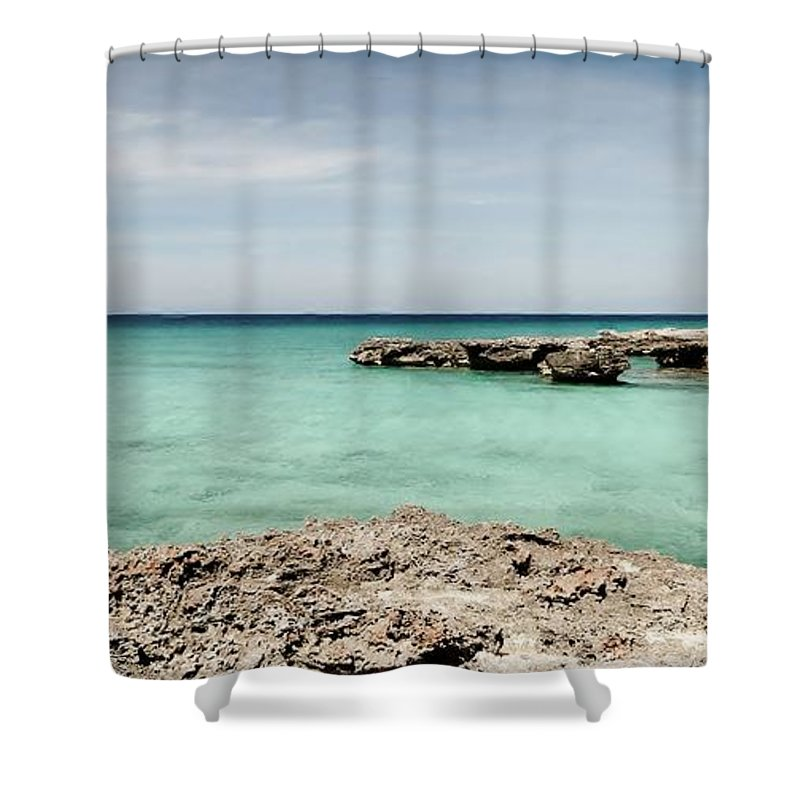 Color Shower Curtain featuring the photograph Smith Cove West by Amar Sheow