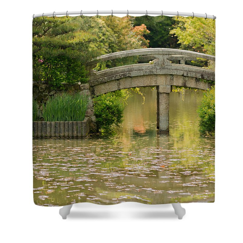 Japan Shower Curtain featuring the photograph Solitude by Jonah Anderson