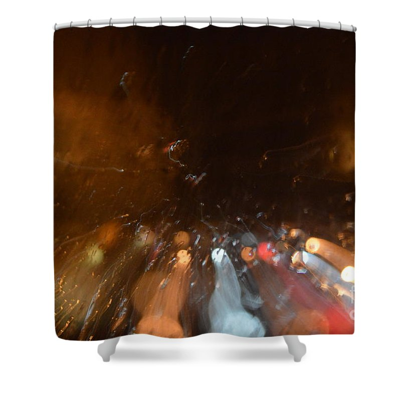 Soul Shower Curtain featuring the photograph Soul Searching by Brian Boyle