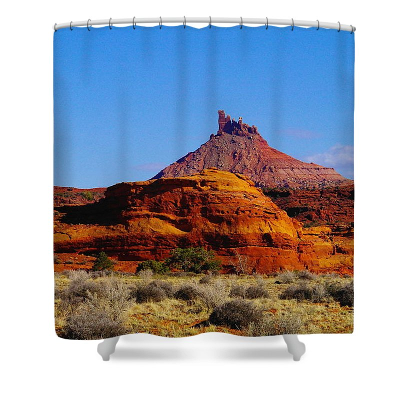 Mountains Shower Curtain featuring the photograph Southern Utah by Jeff Swan
