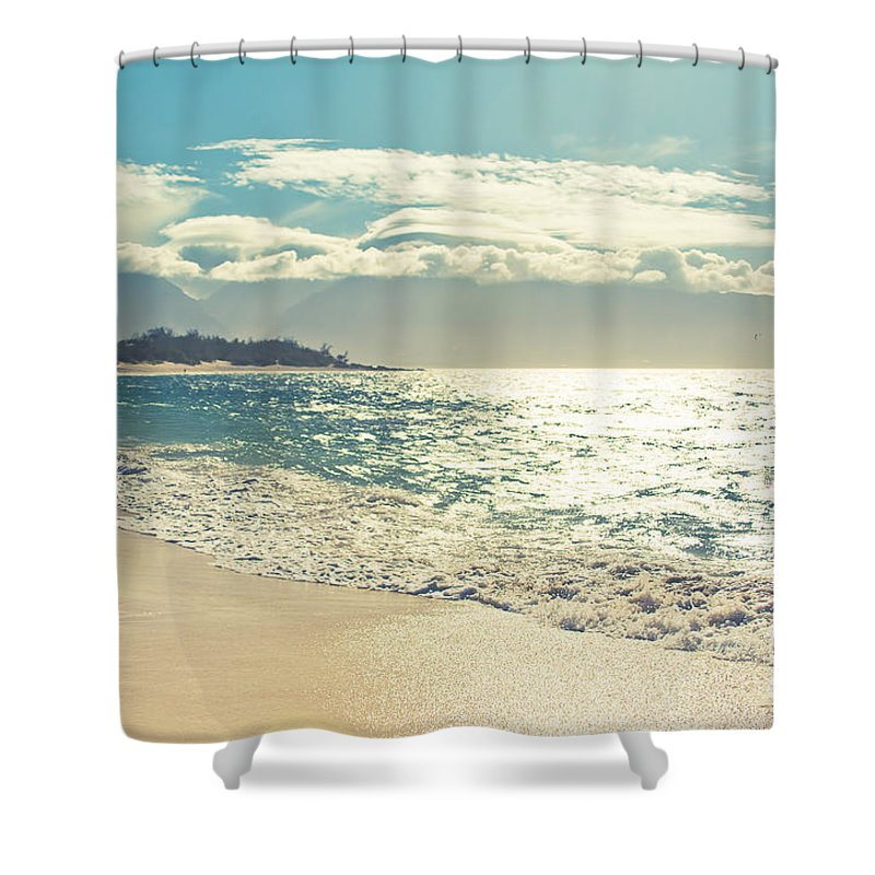 Spirit Of Maui Shower Curtain featuring the photograph Spirit Of Maui by Sharon Mau