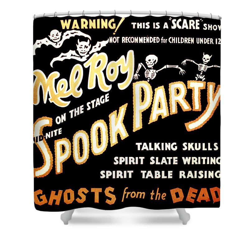 Magic Shower Curtain featuring the photograph Spook Party 2 by Jennifer Rondinelli Reilly - Fine Art Photography