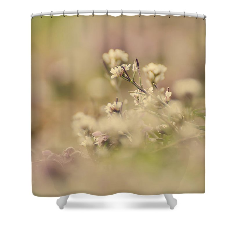 Flower Shower Curtain featuring the photograph Spring Blossoms by Heather Applegate
