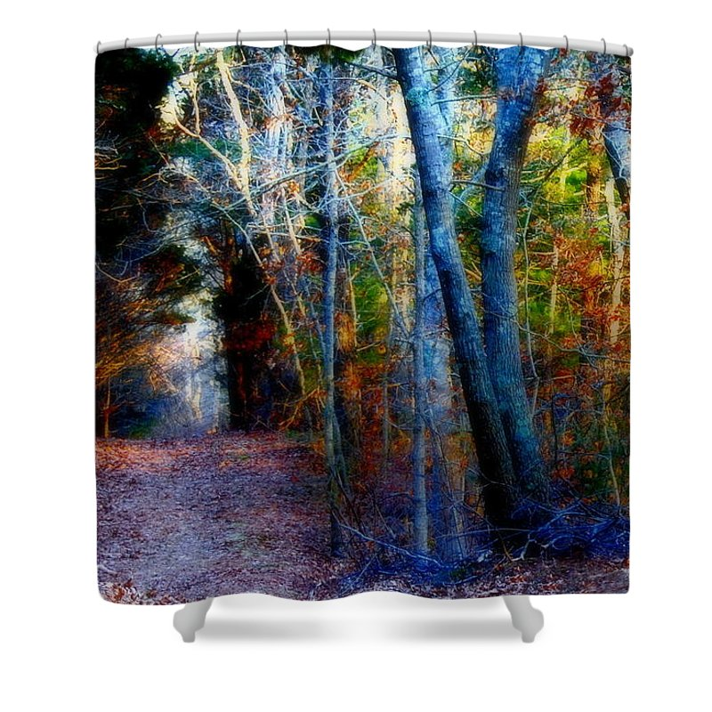 Beach Shower Curtain featuring the photograph Spring Color by Marysue Ryan