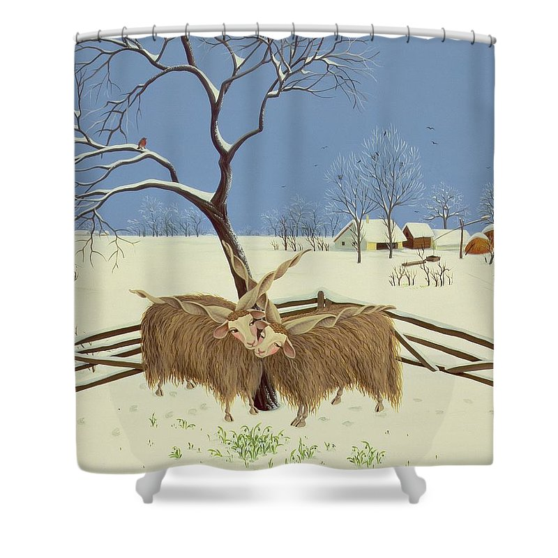 Yak Shower Curtains