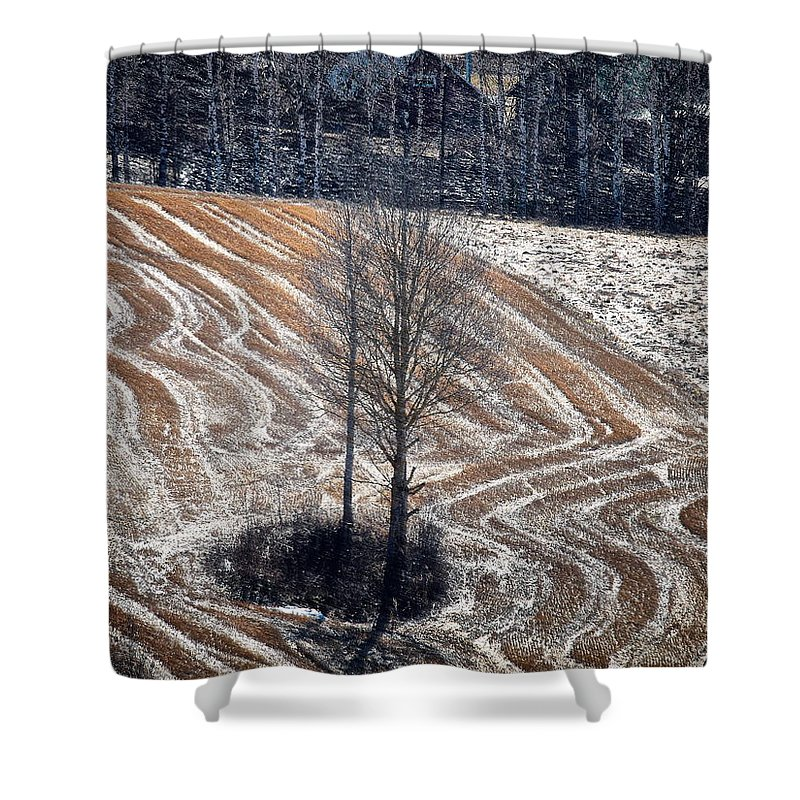 Lehto Shower Curtain featuring the photograph Springfield by Jouko Lehto