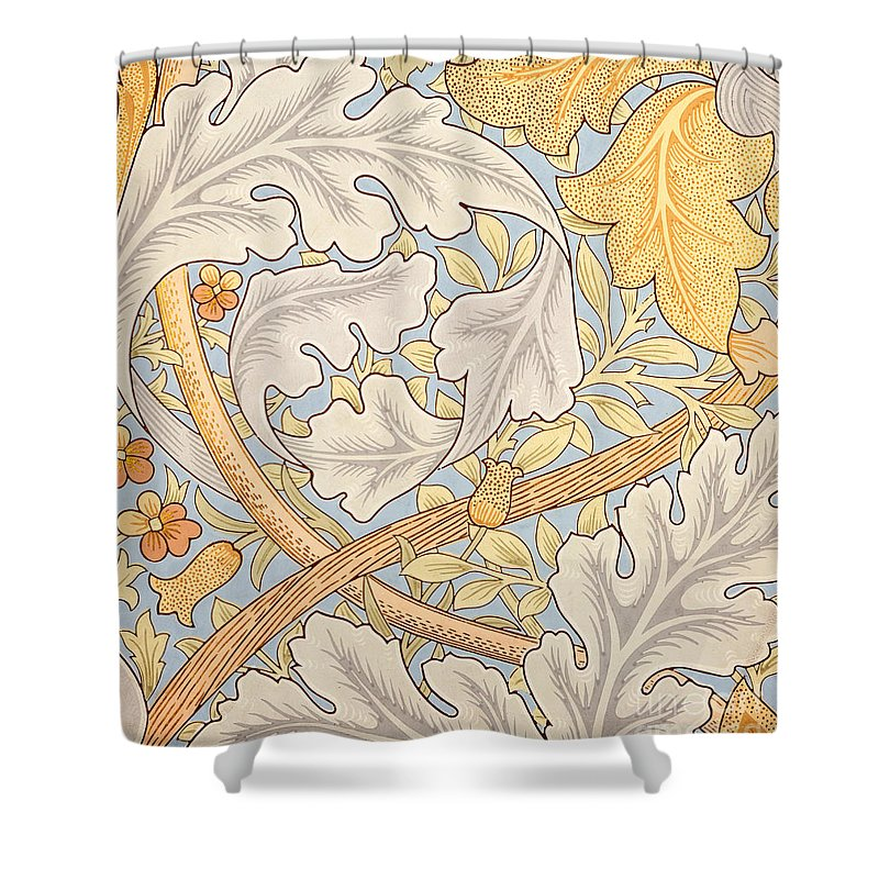 St James Shower Curtain featuring the painting St James Wallpaper Design by William Morris