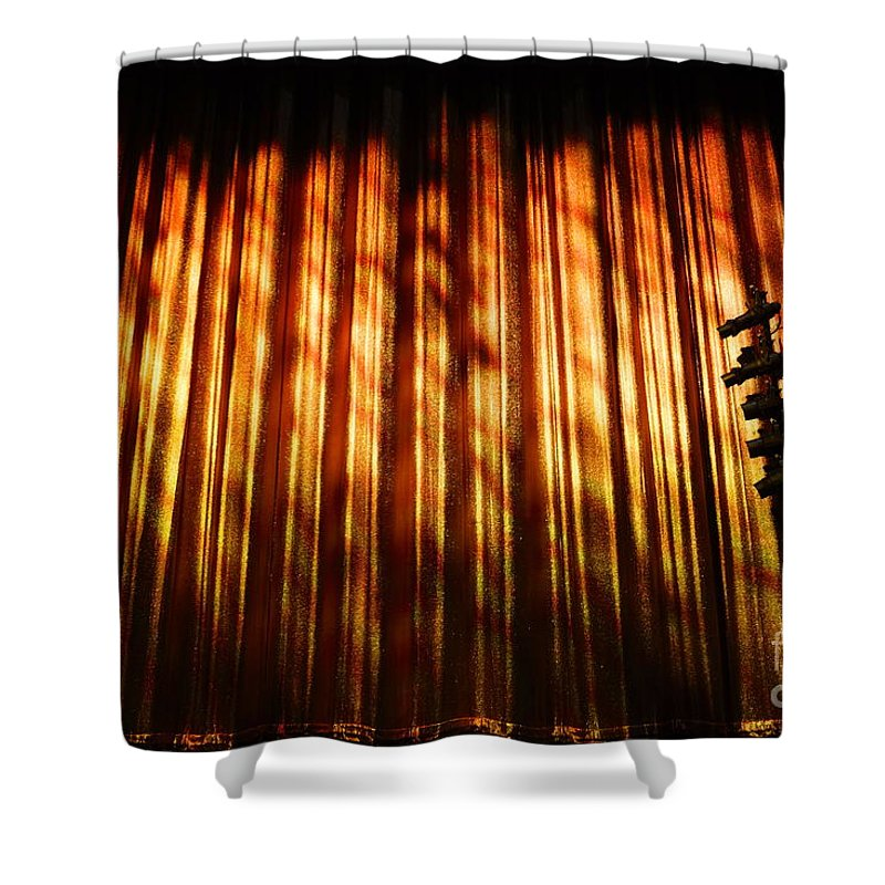 Stage Shower Curtain featuring the photograph Stage Left by Jacqueline Athmann