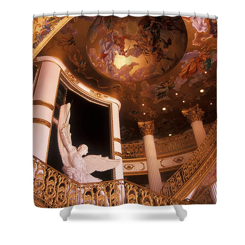 Angle Shower Curtain featuring the photograph Stairway To The Angles by Paul W Faust - Impressions of Light