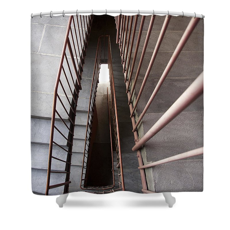 Banister Shower Curtains