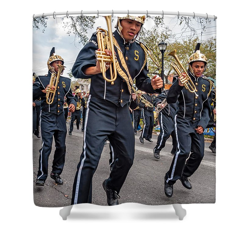 New Orleans Shower Curtain featuring the photograph Steppin' Out by Steve Harrington