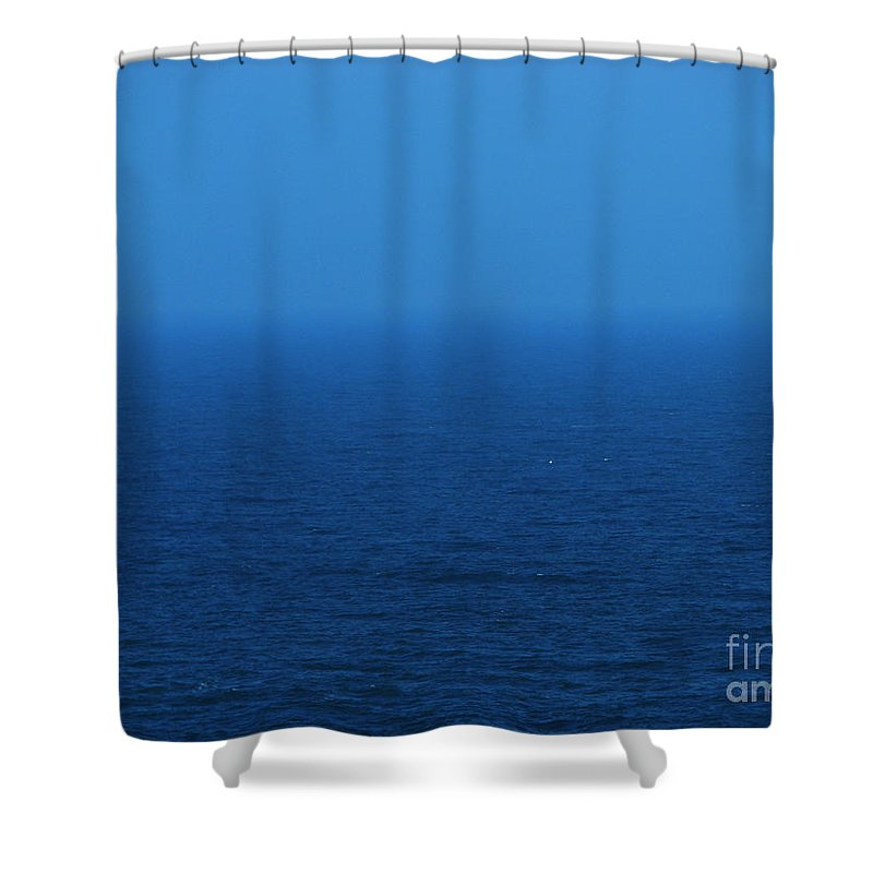 Blue Shower Curtain featuring the photograph Stepping Into A Dream by Amanda Barcon