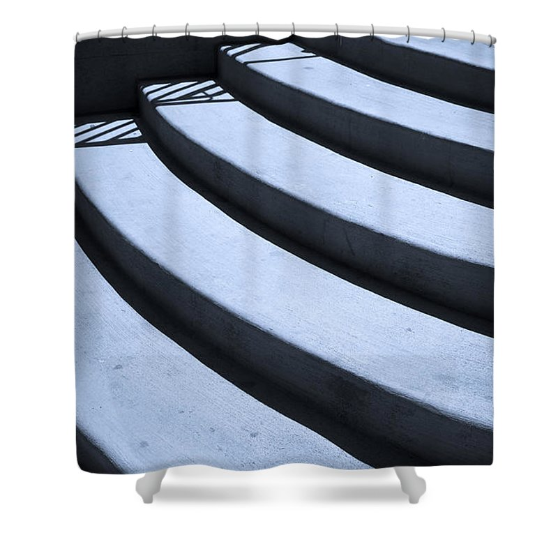 Steps Shower Curtain featuring the photograph Steps by Madeline Ellis