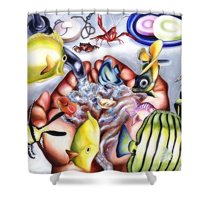 Dream Shower Curtain featuring the painting Still Drunk by Hiroko Sakai