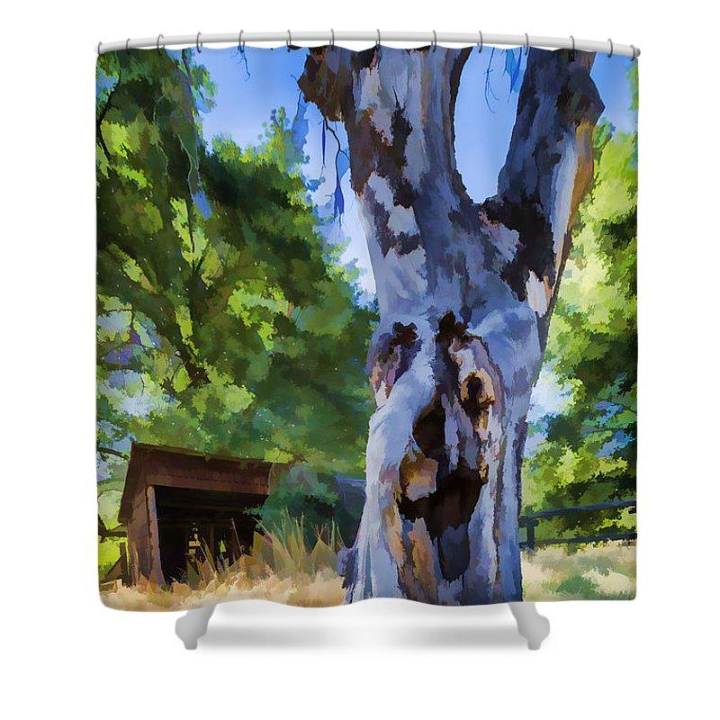 Barn Shower Curtain featuring the photograph Still Got It by Scott Campbell