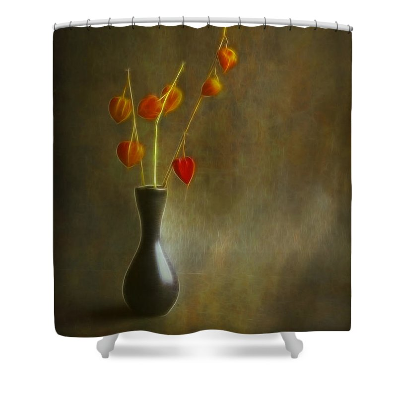 Art Shower Curtain featuring the photograph Still Of Life by Veikko Suikkanen