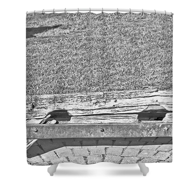 Travel Shower Curtain featuring the photograph Stocks Of Stow On The Wold by Elvis Vaughn