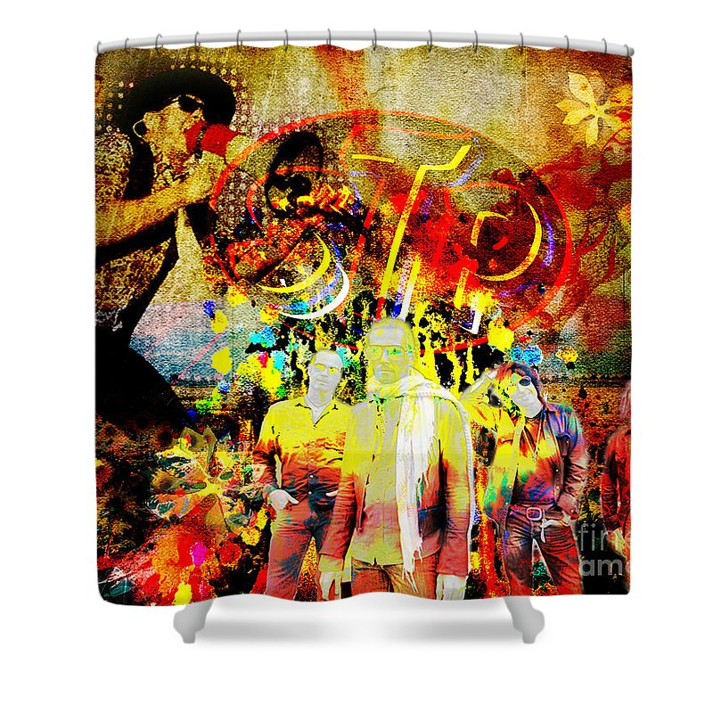 Stone Temple Pilots Shower Curtains