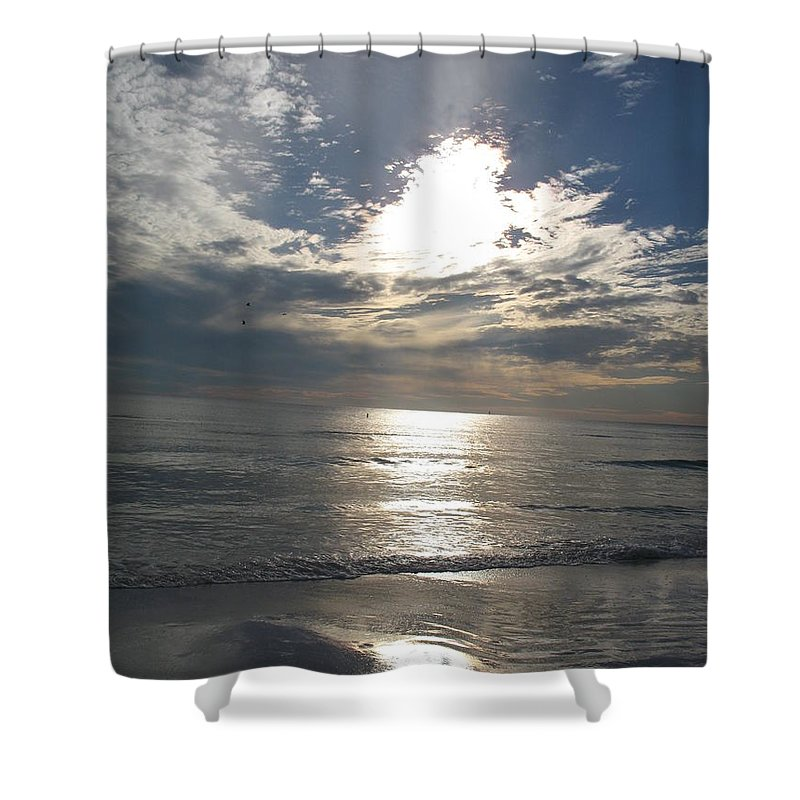 Sky Shower Curtain featuring the photograph Stormy Sky by Christiane Schulze Art And Photography