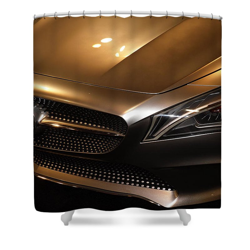 Mercedes Shower Curtain featuring the photograph Style by Joe Hamilton