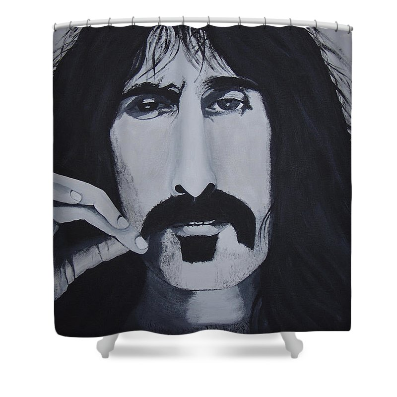 Suave Shower Curtain featuring the painting Suave 40-93 by Dean Stephens