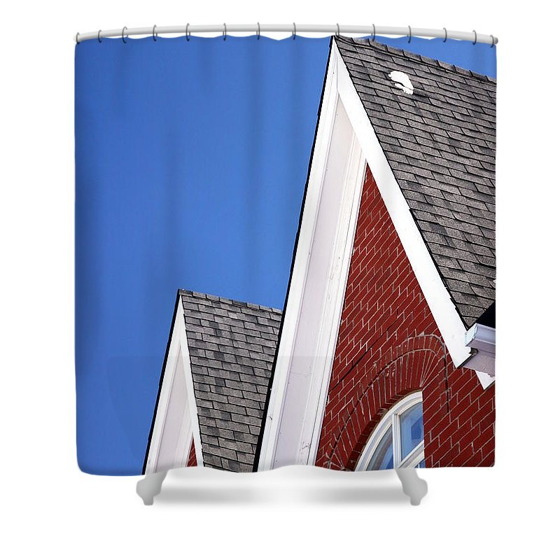 Canada Shower Curtain featuring the photograph Suburban Canada by Valentino Visentini