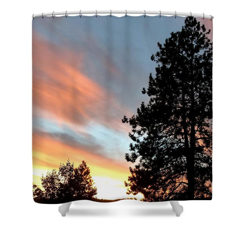 Suddenly This Summer Shower Curtain featuring the photograph Suddenly This Summer by Will Borden