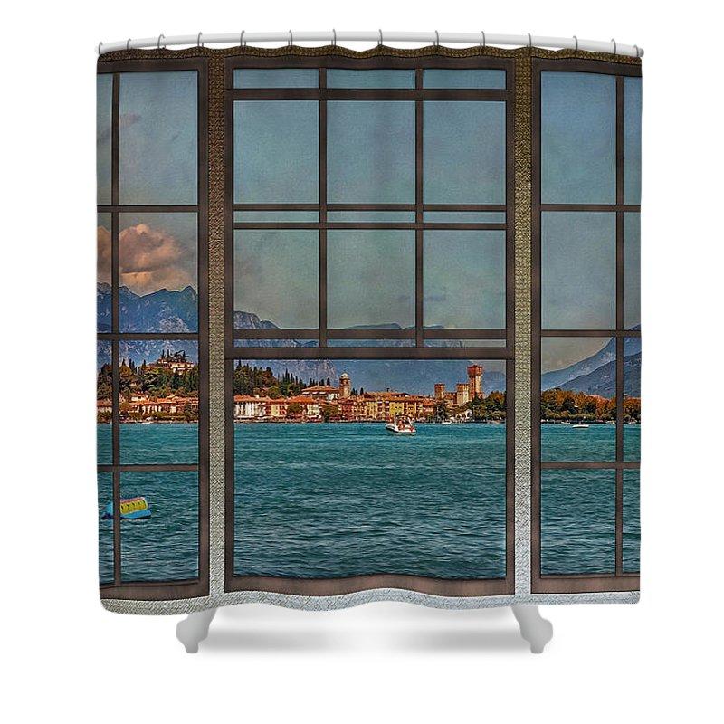 Lago Di Garda Shower Curtain featuring the photograph Summer Imagination by Hanny Heim