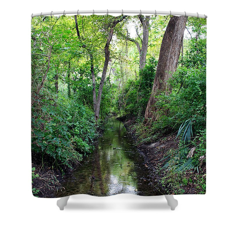 Landscape Shower Curtain featuring the photograph Summer Scene 2 by Earl Johnson