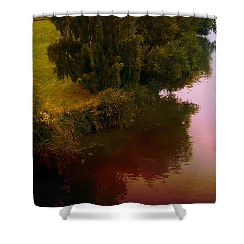 Tree Shower Curtain featuring the photograph Summertime by Margie Hurwich